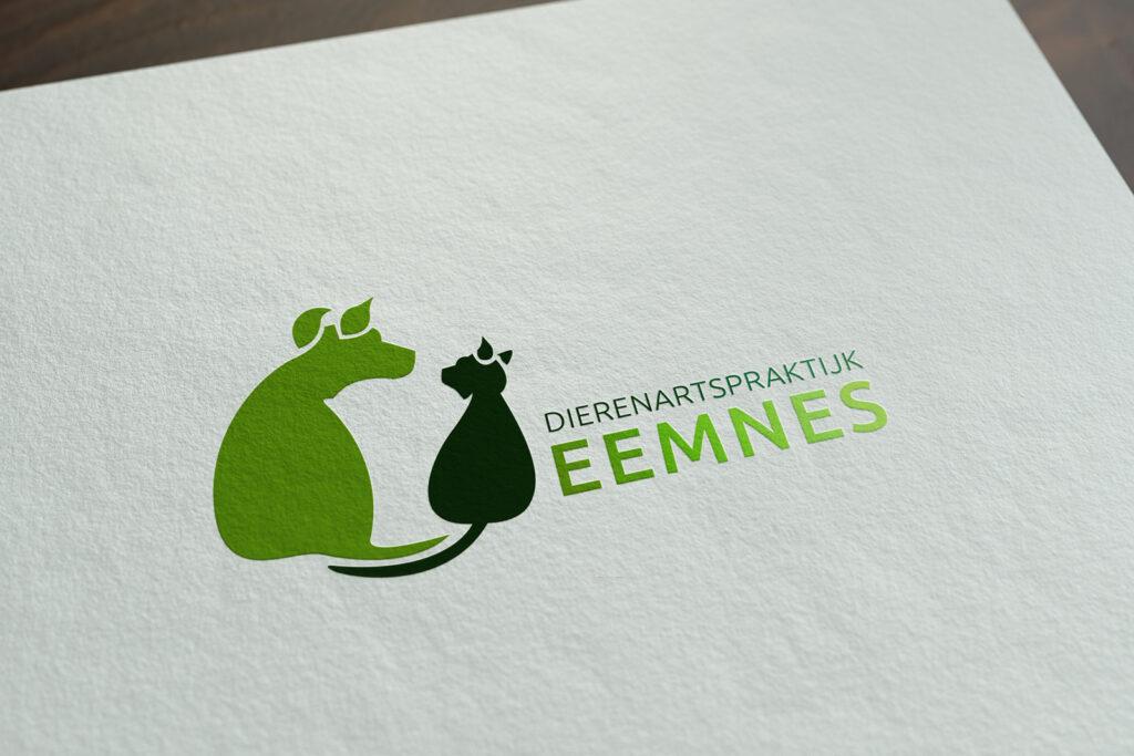 Dierenartspraktijk Eemnes logo ontwerp