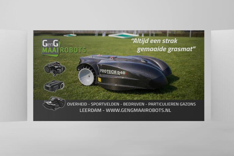 GenG Maairobots bioscoopreclame