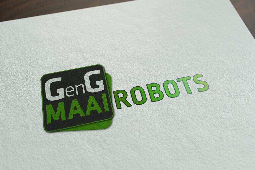 GenG Maairobots logo ontwerp