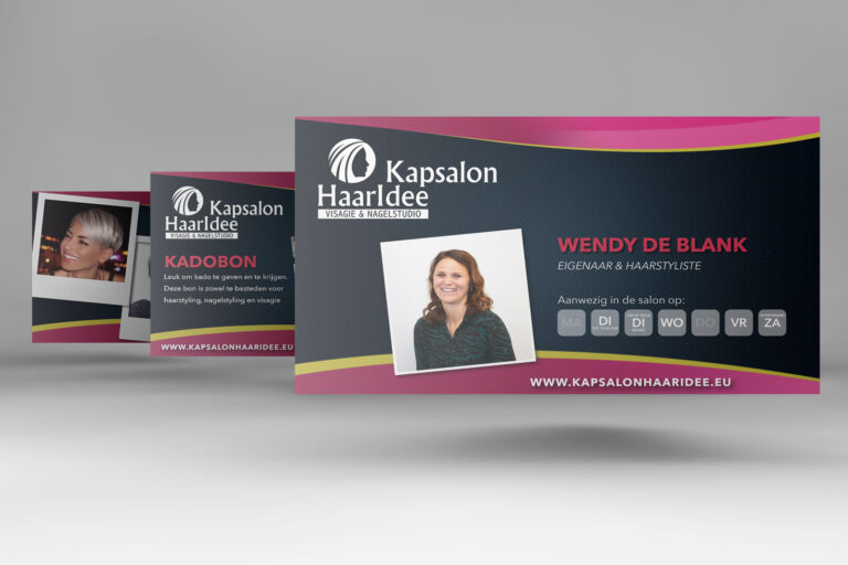 Kapsalon HaarIdee winkel presentatie