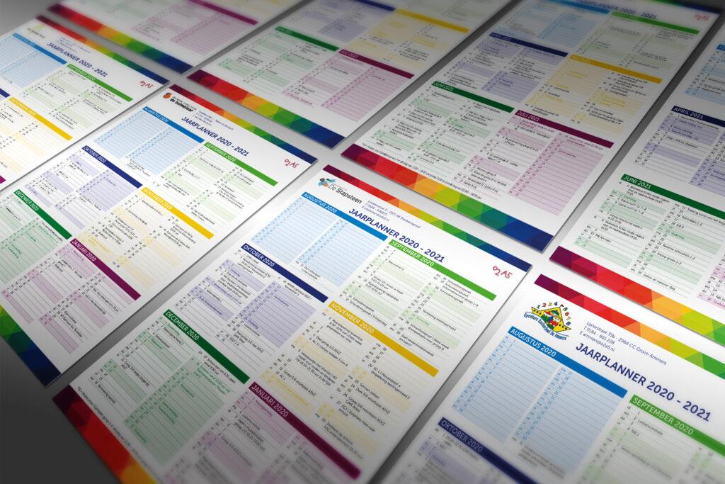 O2A5 Molenwaard jaarplanners