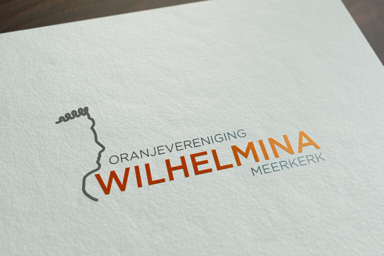 Oranjevereniging Wilhelmina logo ontwerp