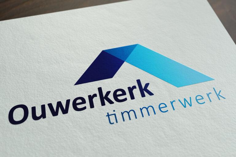 Ouwerkerk Timmerwerk logo ontwerp