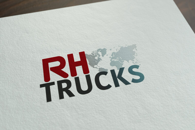 RH Trucks logo ontwerp