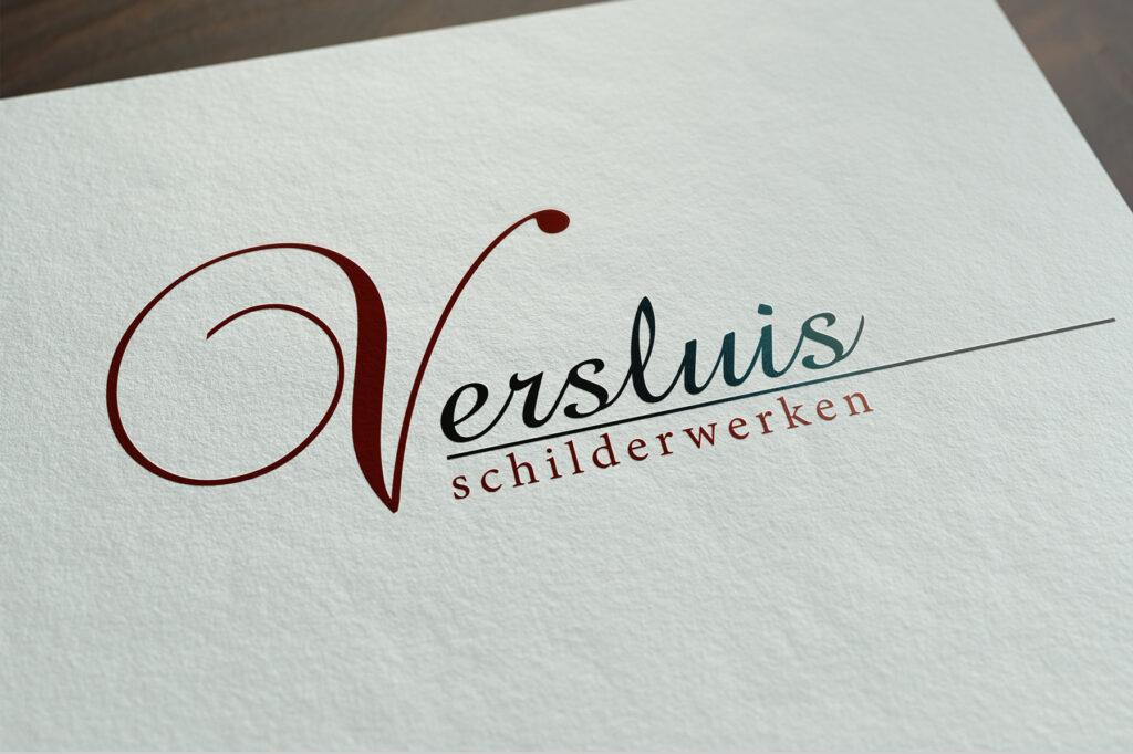 Versluis Schilderwerken logo ontwerp